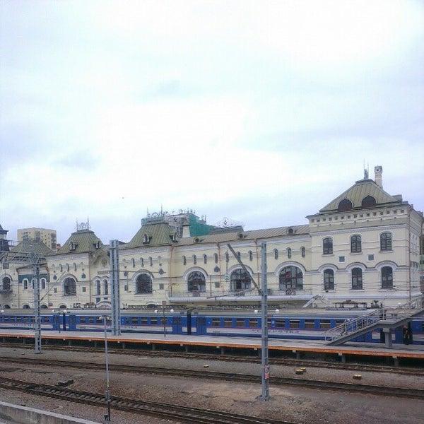 Photo taken at Железнодорожный вокзал Владивостока / Vladivostok Railway Station by Aleksandr V. on 8/25/2012