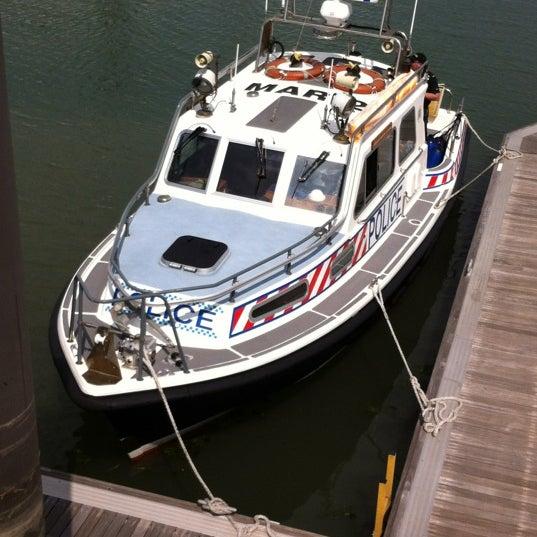 Photo taken at Hamble Point Marina by Tony B. on 6/2/2012