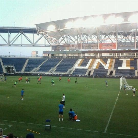 Photo taken at Talen Energy Stadium by Anastasia on 6/21/2012