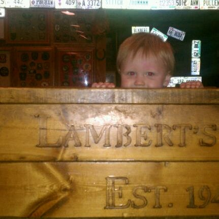 Photo taken at Lambert's Cafe by wish E. on 3/22/2012