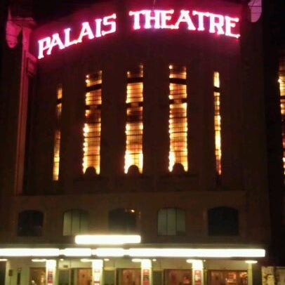 Photo taken at Palais Theatre by Molly W. on 4/22/2012
