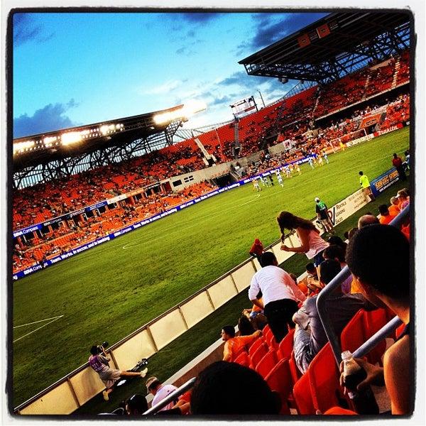 Photo prise au BBVA Compass Stadium par Lorin F. le7/19/2012