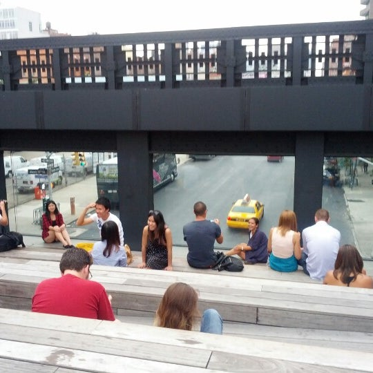 Photo taken at High Line 10th Ave Amphitheatre by Carlos on 8/19/2012