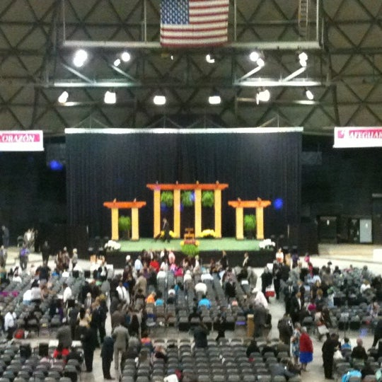 Photo taken at Bell County Expo Center by Christa T. on 7/22/2012