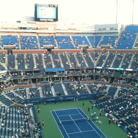 Photo taken at US Open Tennis Championships by sophia s. on 8/31/2012