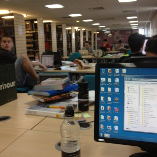 Photo taken at Northumbria University Library by TiShA L. on 8/9/2012