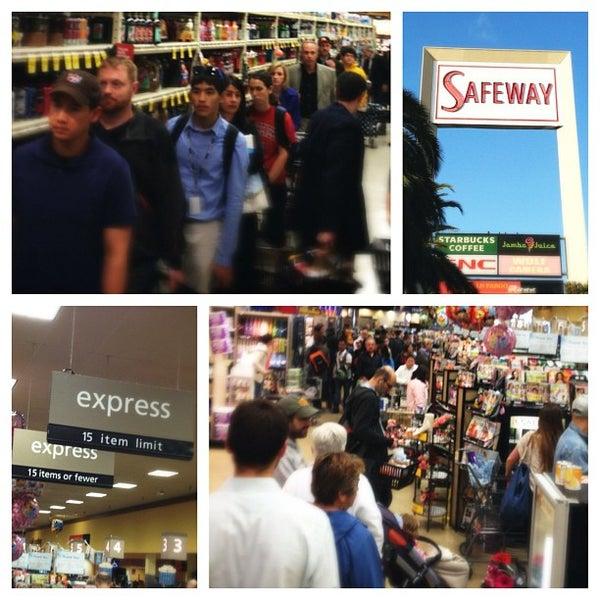 Photo taken at Safeway by Arif H. on 6/19/2012