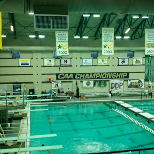 Photo taken at Aquatic and Fitness Center - George Mason University by Jeff B. on 2/24/2012