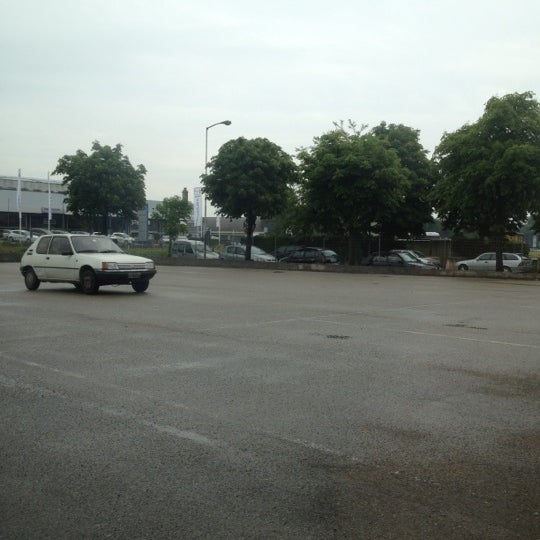 Photo taken at Parcheggio Via Sassonia by Namer M. on 5/21/2012