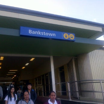 Photo taken at Bankstown Station by Rifky A. on 4/30/2012