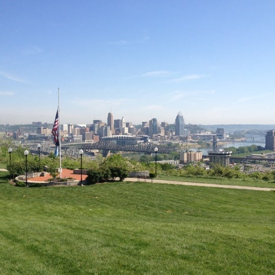 Photo taken at Devou Overlook by Chris F. on 4/19/2012