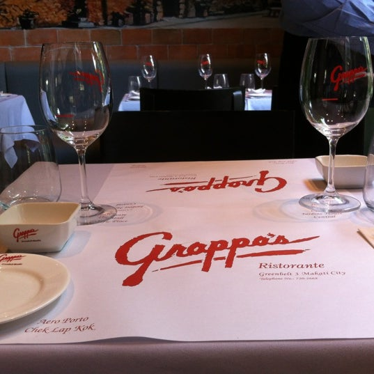Photo taken at Grappa's by Ruth P. on 6/4/2012