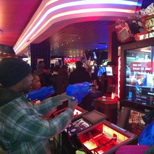 Photo taken at Dave & Buster's by Dmitry S. on 2/26/2012