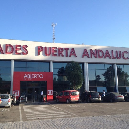 Photo taken at Abades Puerta de Andalucía by Luciano C. on 6/30/2012