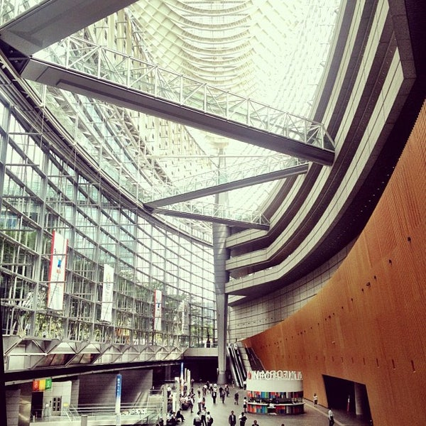 Photo taken at Glass Building by nik on 9/6/2012