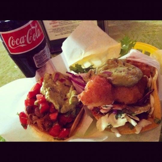Photo taken at Nick's Crispy Tacos by Edward H. on 7/31/2012