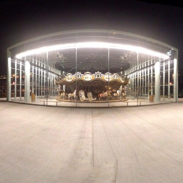 Photo taken at Jane's Carousel by Harlan E. on 5/18/2012