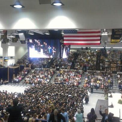 Photo taken at The George Washington University by Girish T. on 5/18/2012