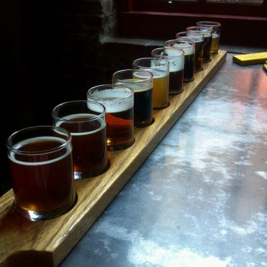 Photo taken at Portsmouth Brewery by Michael A. on 5/17/2012