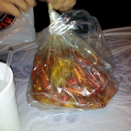 Photo taken at Hot N Juicy Crawfish by Kathy D. on 4/14/2012