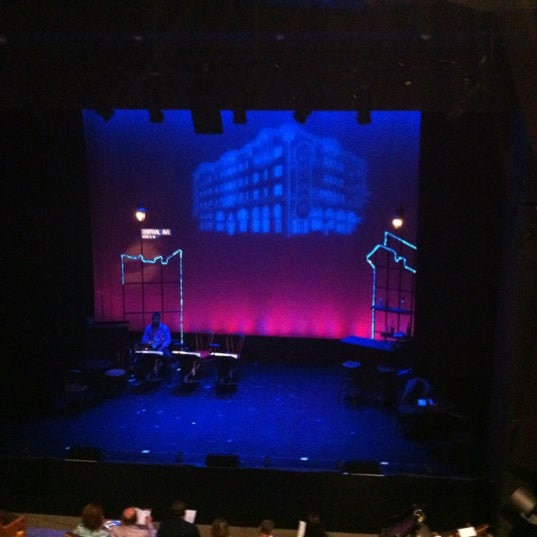 Photo taken at Pershing Square Signature Theater by Clea C. on 7/19/2012