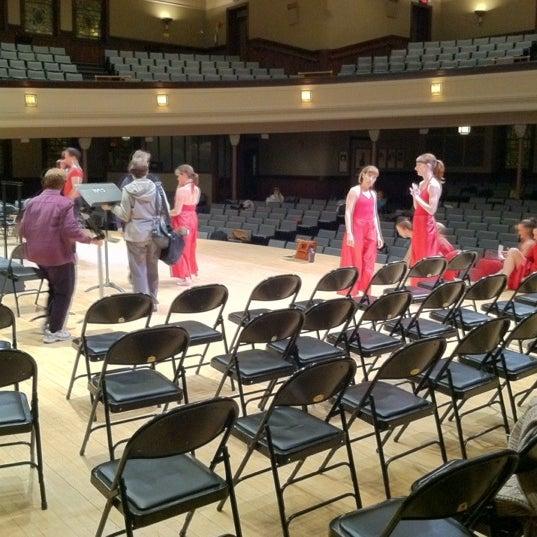 Photo taken at Hochstein School of Music & Dance by Paul T. on 3/10/2012