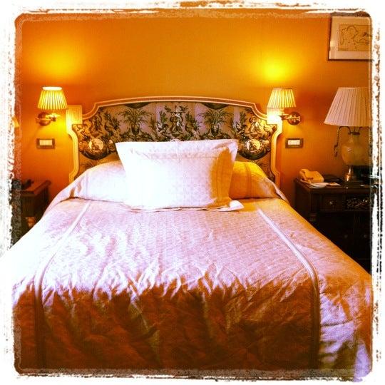 Photo taken at Hotel Grande Bretagne by Mark D. on 5/14/2012