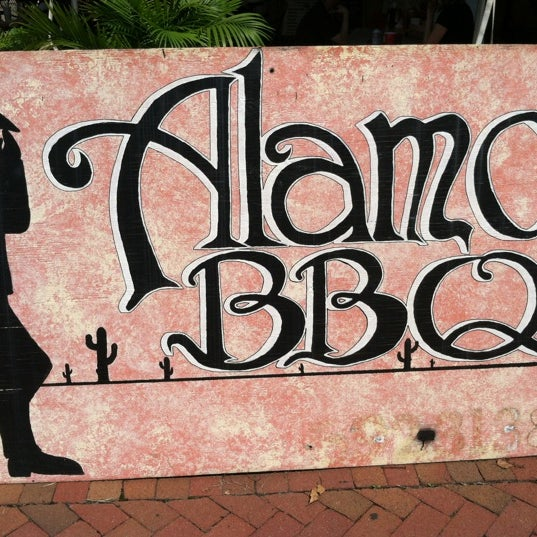 Photo taken at Alamo BBQ by Mark C. on 9/7/2012
