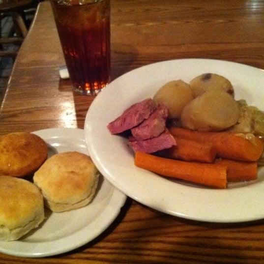 Photo taken at Cracker Barrel by Kevin M. on 3/17/2012