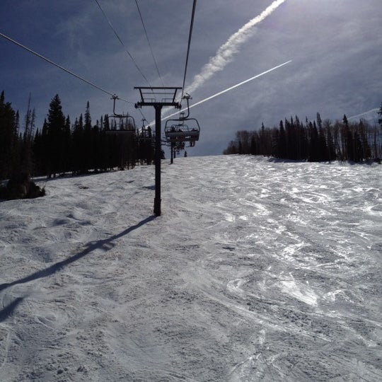 Photo taken at Steamboat Resort by Craig D. on 3/25/2012