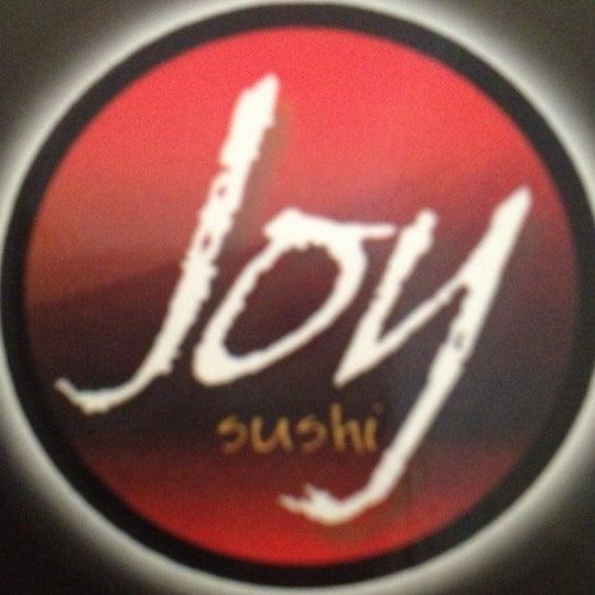Photo taken at Joy Sushi by Rafael F. on 8/15/2012