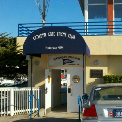 Photo taken at Golden Gate Yacht Club by Lindsay N. on 7/7/2012