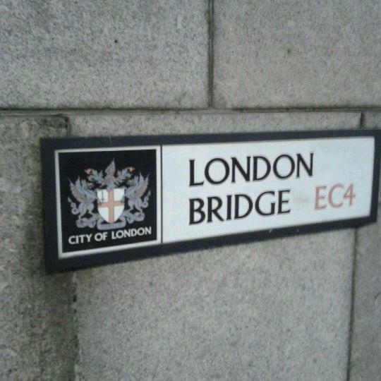 Photo taken at London Bridge by Iran G. on 9/12/2012