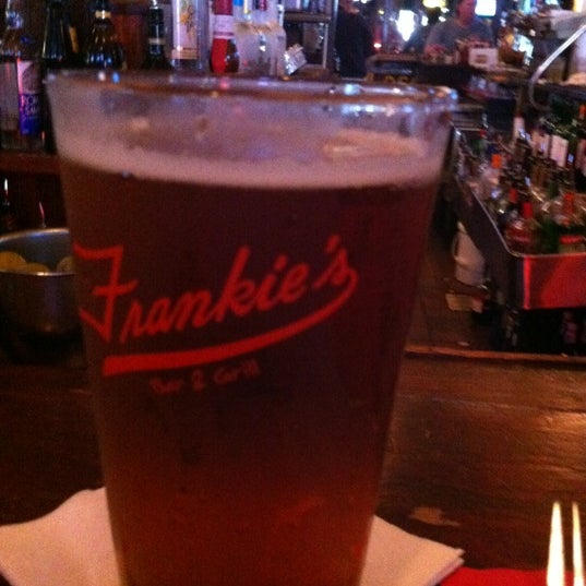 Photo taken at Frankie's Bar & Grill by John A. on 8/26/2012