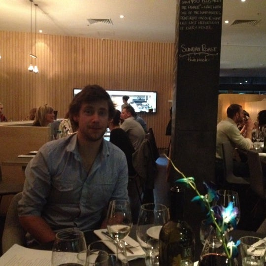 Photo Taken At Eden Dining Room Amp Bar By Richard D On 7