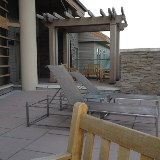 Photo taken at The Lodge at Turning Stone by Joanie B. on 5/20/2012