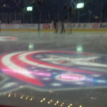 Photo taken at Nationwide Arena by Courtney on 4/19/2012