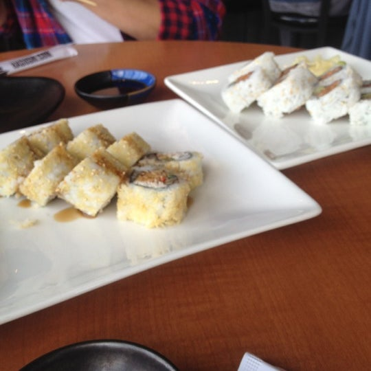 Photo taken at RA Sushi by Alicia on 8/17/2012