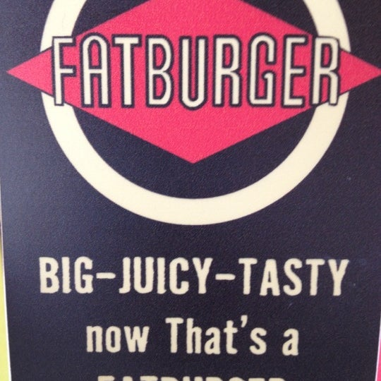 Photo taken at Fatburger by Niji T. on 4/19/2012