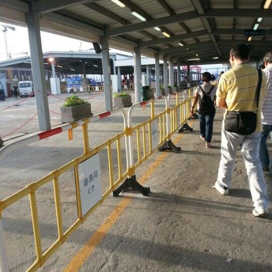 Photo taken at Taipa Ferry Terminal by Naomi H. on 7/5/2012
