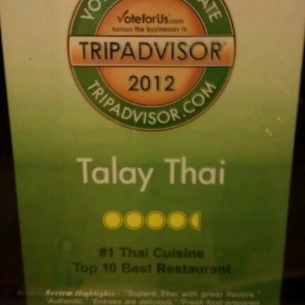 Photos at Talay Thai Cuisine - PGA National - Palm Beach Gardens, FL