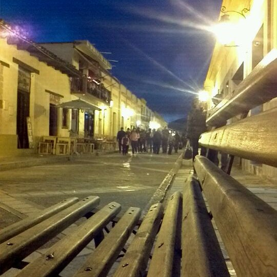 Photo taken at Andador Real de Guadalupe by San Cristobal E. on 5/23/2012