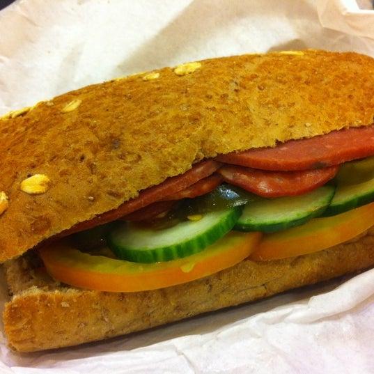 Photo taken at Subway by Enida J. on 6/10/2012
