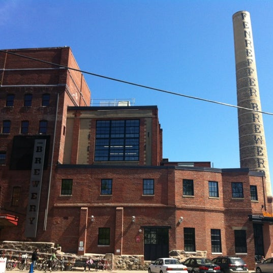 Photo taken at Samuel Adams Brewery by Paige on 4/28/2012