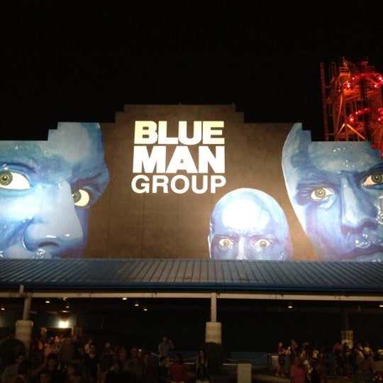 Photo taken at Blue Man Group at Universal CityWalk by Luiz R. on 6/13/2012