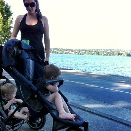 Photo taken at Green Lake Boathouse by Erik B. on 8/16/2012
