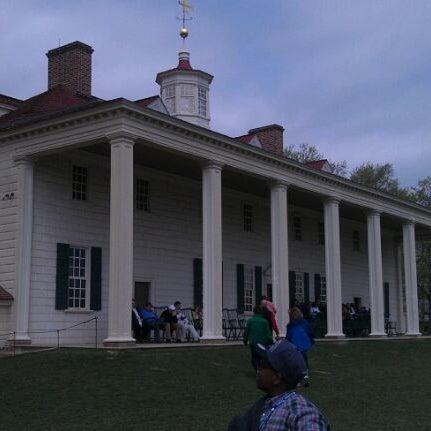 Photo taken at George Washington's Mount Vernon by Nicole T. on 4/1/2012