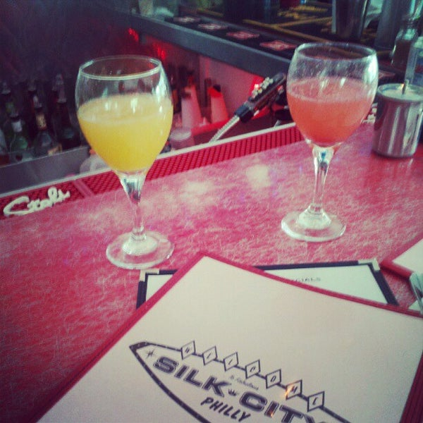 Photo taken at Silk City Diner Bar & Lounge by Marty S. on 6/2/2012