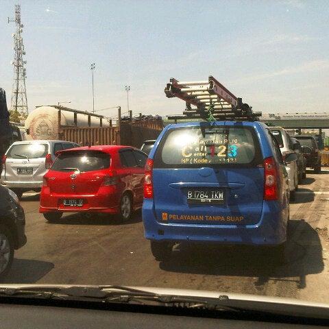 Photo taken at Tol Surabaya Gresik by Dhorin S. on 7/28/2012