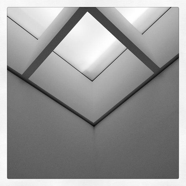Photo taken at Pinakothek der Moderne by Thomas S. on 6/17/2012